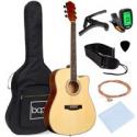 Deals List: BCP 41-in Acoustic Guitar Starter Kit w/Digital Tuner, Padded Case