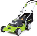 Deals List: Greenworks 20-Inch 3-in-1 12 Amp Electric Corded Lawn Mower 25022