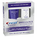 Deals List: Crest 3D White Brilliance 2 Step Kit, Deep Clean Toothpaste (4oz) + Teeth Whitening Gel (2.3oz)