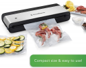 Deals List: FoodSaver VS0150 Sealer PowerVac Compact Vacuum Sealing Machine, Vertical Storage