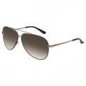 Deals List: Salvatore Ferragamo Brown Aviator Sunglasses
