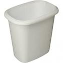 Deals List: Rubbermaid Vanity Trash Can Wastebasket 6QT FG295300WHT