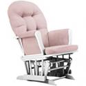 Deals List: Belle Isle Furniture Bentley White Pink Glider