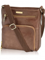Deals List: Up to 50% off on leather cross body bags, handbags and women wallets by ESTALON