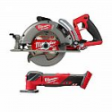 Deals List: Milwaukee M18 FUEL 18-Volt Lithium-Ion Cordless 7-1/4 in. Rear Handle Circular Saw with Oscillating Multi-Tool