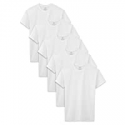 Deals List: 5-Pack Fruit of the Loom Boys Cotton White T Shirt