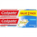 Deals List: 2-Pack Colgate Total Whitening Toothpaste 9.6oz