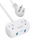 Deals List: Anker PowerExtend USB 2 mini Power Strip