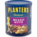 Deals List: Planters Deluxe Mixed Nuts (15.25 oz Canister) | Variety Mixed Nuts with Cashews, Almonds, Hazelnuts, Pistachios & Pecans