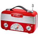 Deals List: Coca-Cola CCR01 Retro Desktop Vintage Style AM/FM Radio