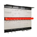 Deals List: Ultrawall Garage Storage Pegboard with Hooks 48x36-inch