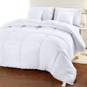Deals List: Utopia Bedding Comforter Duvet Insert - Quilted Comforter with Corner Tabs - Box Stitched Down Alternative Comforter (Full, White)