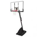 "Deals List: Spalding NBA 50"" Polycarbonate Portable Basketball Hoop"
