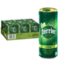 Deals List: Perrier Lime Flavored Carbonated Mineral Water, 8.45 Fl Oz (30 Pack) Slim Cans