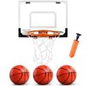 Deals List: ZNCMRR Kids Indoor Mini Basketball Hoop Set w/3 Balls