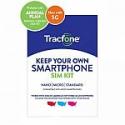 Deals List: Tracfone 1-Year Prepaid Smartphone Plan w/ 1200 Min, 1200 Txt & 3GB Data