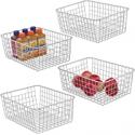 Deals List: iSPECLE Metal Wire Storage Baskets