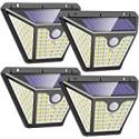 Deals List: 4-Pack FARRIDE Solar Wall Lights