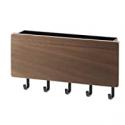 Deals List: YAMAZAKI home Magnetic Wall Organizer-Key Hooks & Tray