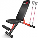 Deals List: pelpo Adjustable Weight Bench for Strength Training, Foldable Full Body Workout Bench for Home Gym Bench Press