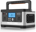 Deals List: WAKYME 520Wh Capacity Portable Solar Power Station with QC 3.0 USB-Type C