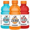 Deals List: Gatorade G Zero Thirst Quencher, Fruit Punch Variety Pack, 12oz Bottles (24 Pack)