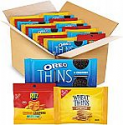 Deals List: 48-count NABISCO, OREO Thins Chocolate Sandwich Cookies, RITZ Cheddar Flavor Cheese Crispers Chips and Wheat Thins Crackers Variety Pack