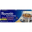 Deals List: Reynolds Kitchens Slow Cooker Liners, Regular, 6 Count (Pack of 1)