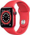 Deals List: Apple Watch Series 6 GPS, 40mm PRODUCT(RED) Aluminum Case with PRODUCT(RED) Sport Band