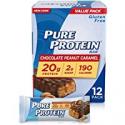 Deals List: 12Pk Pure Protein Bars Chocolate Peanut Caramel, 1.76-Oz