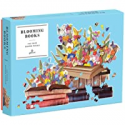 Deals List: 750 Pieces Galison Blooming Books Shaped Jigsaw Puzzle
