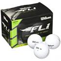 Deals List: 12-Pack Wilson Staff F.L.I. Golf Balls, White