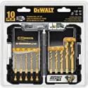 Deals List: DEWALT Titanium Drill Bit Set, 10-Piece Impact Ready (DD5160)