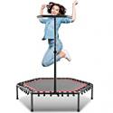 Deals List: Ancheer Mini Trampoline, Fitness Rebounder w/Handle Bar