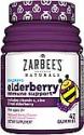 Deals List: Zarbee's Naturals Children's Elderberry Immune Support with Vitamin C & Zinc, Natural Berry Flavor, 42 Gummies