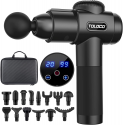 Deals List: TOLOCO Massage Gun, Upgrade Percussion Muscle Massage Gun for Athletes, Handheld Deep Tissue Massager