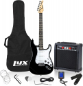 """Deals List: LyxPro Electric Guitar 39"""" inch Complete Beginner Starter kit Full Size with 20w Amp, Package Includes All Accessories, Digital Tuner, Strings, Picks, Tremolo Bar, Shoulder Strap, and Case Bag"""