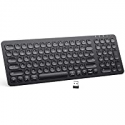 Deals List: iClever GKA2-01B 2.4G Rechargeable Wireless Keyboard