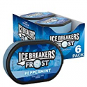 Deals List: ICE BREAKERS FROST Peppermint Flavored Sugar Free Breath Mints, Bulk Mint Candy, 1.2 oz Tins (6 Count)