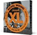 Deals List: D'Addario EXL110-3D Nickel Wound Electric Guitar Strings, Regular Light, 10-46, 3 Sets