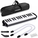 Deals List: CAHAYA Melodica 32 Keys Double Tubes Mouthpiece Air Piano