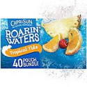 Deals List: Capri Sun Roarin' Waters Tropical Tide Ready-to-Drink Juice (40 Pouches, 4 Boxes of 10)