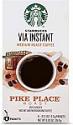 Deals List: Starbucks VIA Instant Coffee Dark Roast Packets — French Roast — 1 box (8 packets)