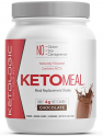 Deals List: KetoLogic Keto Meal Replacement Shake Powder for Optimal Results + MCT Oil + Grass-Fed Whey - Perfectly Formulated Macros for Ketosis - 20 Servings - Chocolate