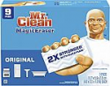 Deals List: Mr Clean Magic Eraser Original, Cleaning Pads with Durafoam, 9 Count
