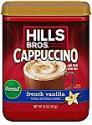 Deals List: Hills Bros. Instant Cappuccino Mix, Decaf French Vanilla Cappuccino (16 Ounces)