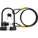 Deals List: Bike U Lock with Cable Via Velo Heavy Duty Bicycle U-Lock