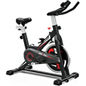 Deals List: YONKFUL Exercise Bike Belt Drive Indoor Cycling Bike