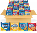 Deals List:  56-Count Nabisco Oreo Original, Oreo Golden, Chips AHOY! & Nutter Butter Cookie Snack Variety Packs