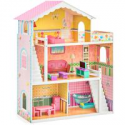 Deals List: BCP 3-Story Wood Dollhouse, Large Open Mansion w/5 Rooms